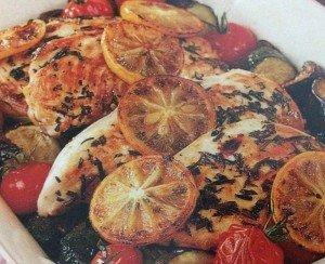 poulet méditerranée